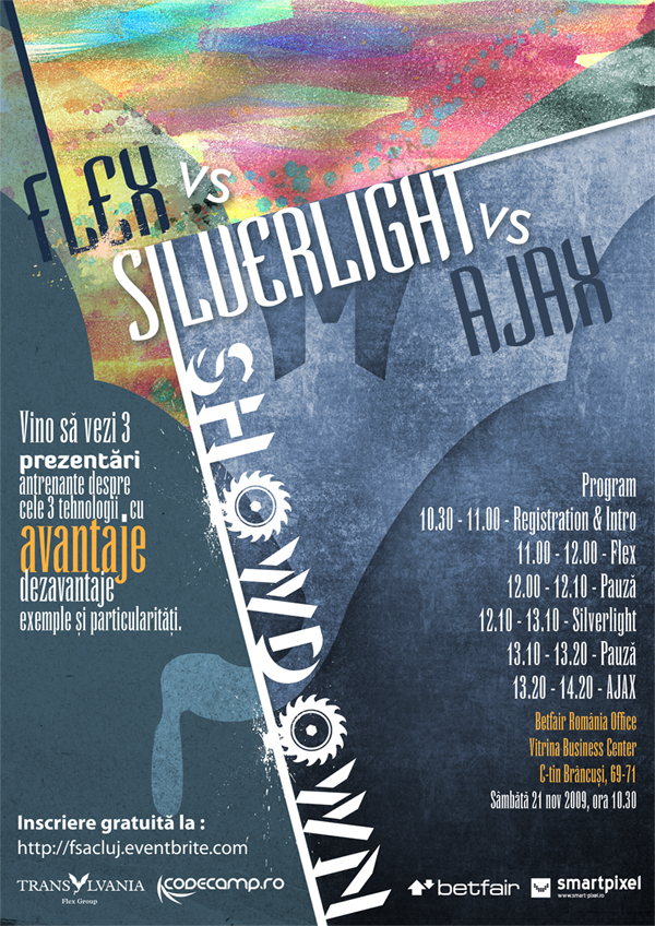 Flex vs Silvelight vs AJAX